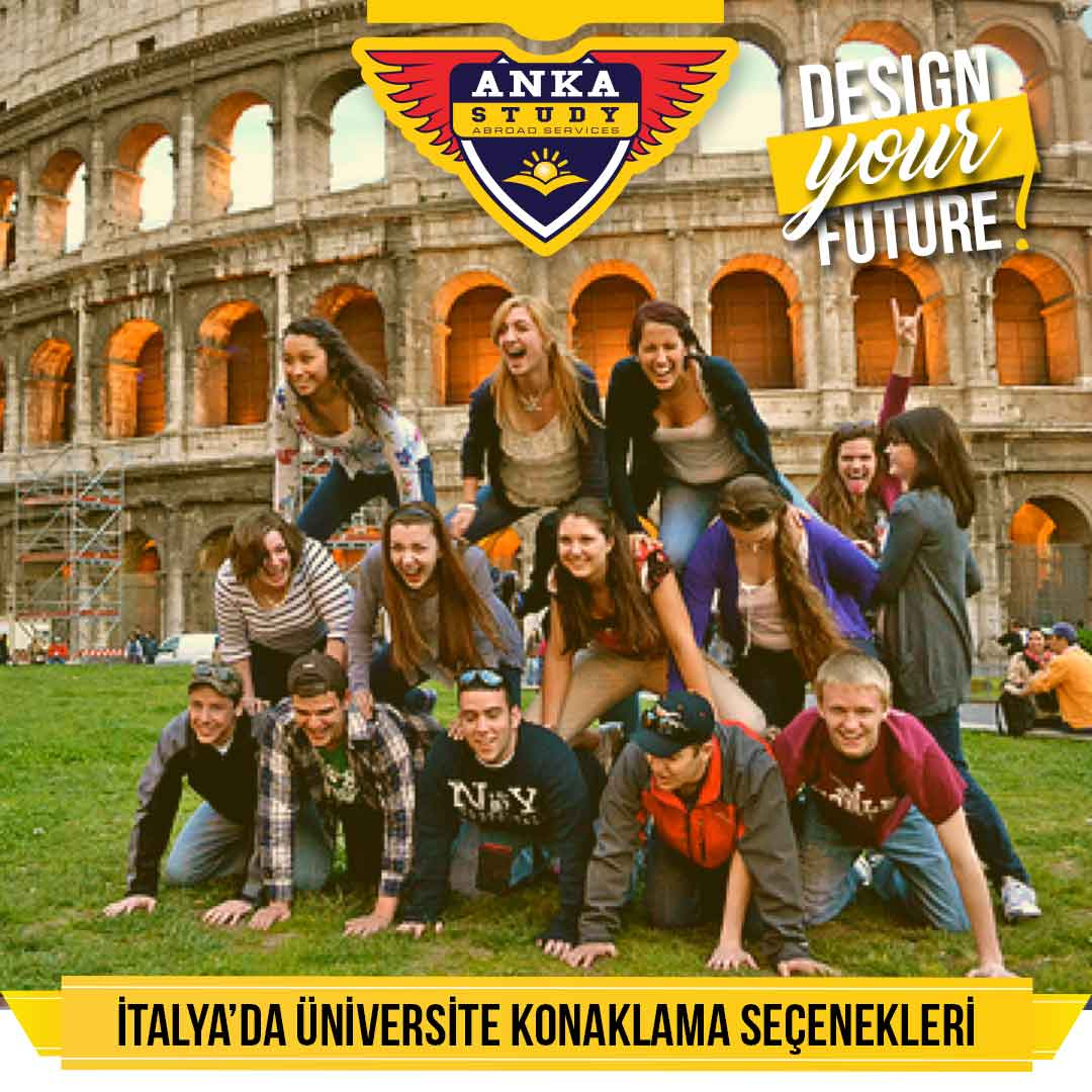 İtalya Üniversiteleri Konaklama seçenekleri